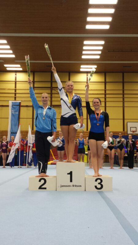 Rebecca Jansen pakt zilver op 1/2 NK!